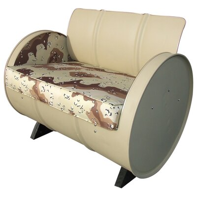 American Warrior Military Camo Armchair