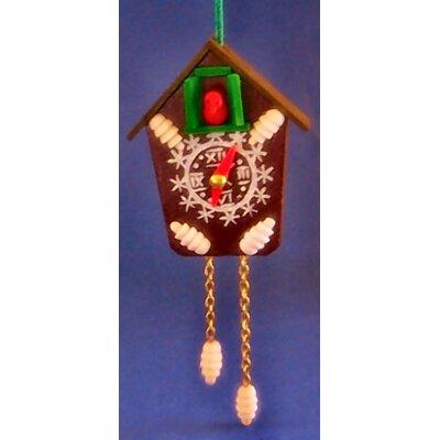 Steinbach Cuckoo Clock Wood Christmas Ornament