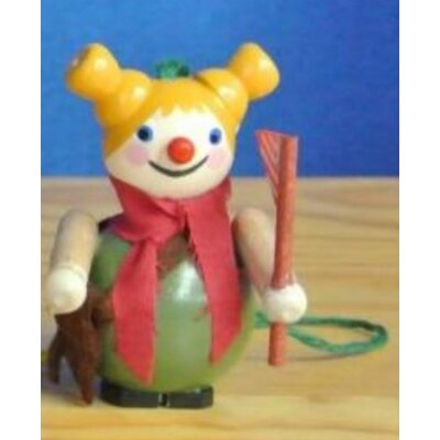 Steinbach American Girl Scout German Wooden Christmas Ornament