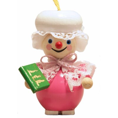 Steinbach the Grimm's Grandma with Book German Wooden Christmas Ornament
