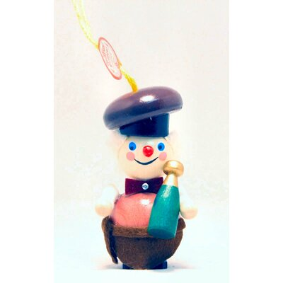 Steinbach Sommelier Wine Steward German Wooden Christmas Ornament