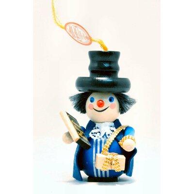 Steinbach Charles Dickens Marley's Ghost German Wooden Christmas Ornament