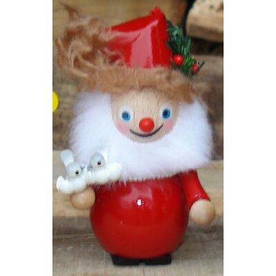 Steinbach Turtle Dove Santa Wood Christmas Ornament
