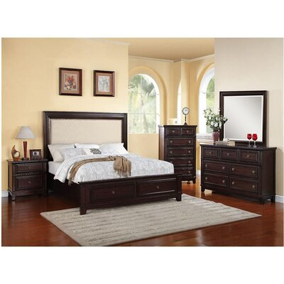 Willow Storage Panel 5 Piece Bedroom Set Size: Queen