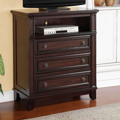 Willow Storage 3 Drawer Media Chest