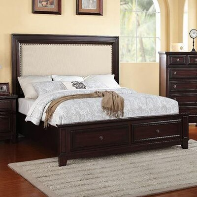 Willow Storage Upholstered Platform Bed Size: King