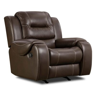 Daigre Recliner Upholstery: Umber, Reclining Type: Power Recline, Motion Type: No Motion