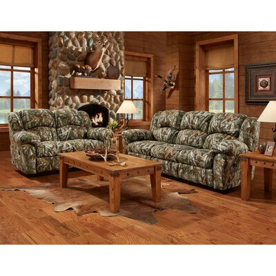 Camo 3 Piece Living Room Set