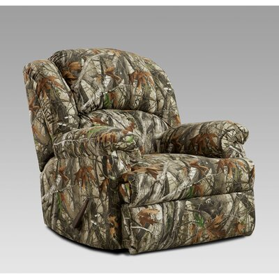 Camo Manual Rocker Recliner