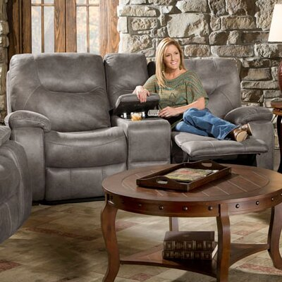 Daub Double Reclining Loveseat