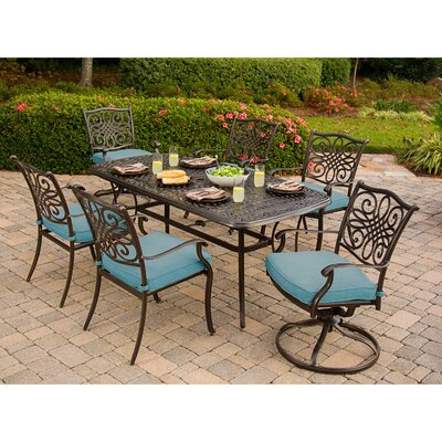Barrowman 7 Piece Dining Set