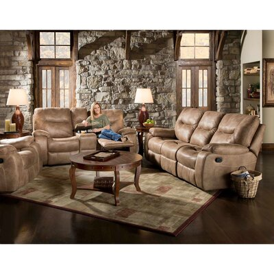 Homestead Reclining Loveseat Upholstery: Sand