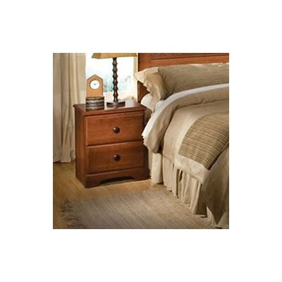West 2 Drawer Nightstand