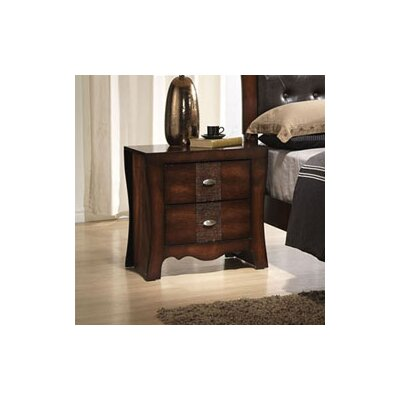 Pulido 2 Drawer Nightstand