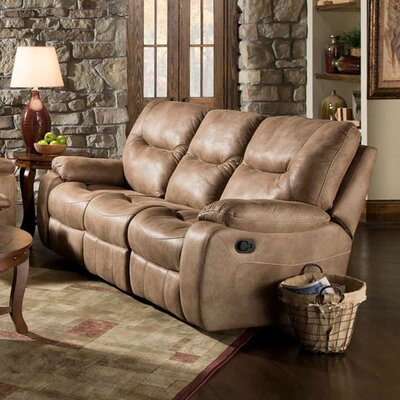 Homestead Reclining Sofa Upholstery: Sand