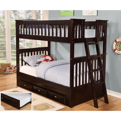 Braeburn Twin-over-Twin Bunk Bed with Trundle