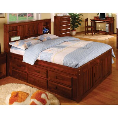 Hamilton Full Captain Bed with Drawers