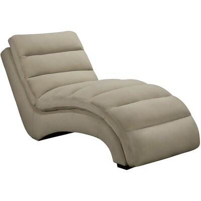Savannah Chaise Lounge Upholstery: Tan