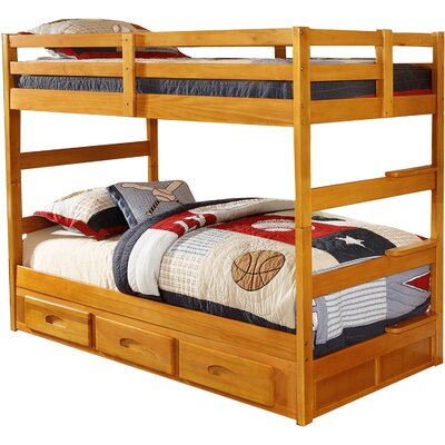 Grant Twin over Twin Bunk Bed with Trundle
