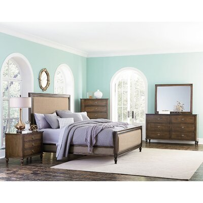 Beacham Platform 5 Piece Bedroom Set