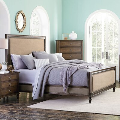 Beacham Queen Upholstered Platform Bed