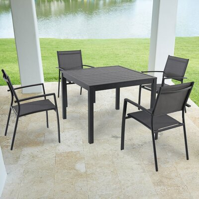 Grover 5 Piece Dining Set