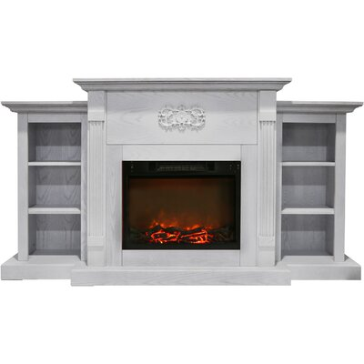 delaney 48 tv stand with fireplace  74835