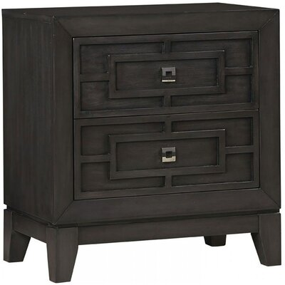 Hallenbeck 2-Drawer Nightstand
