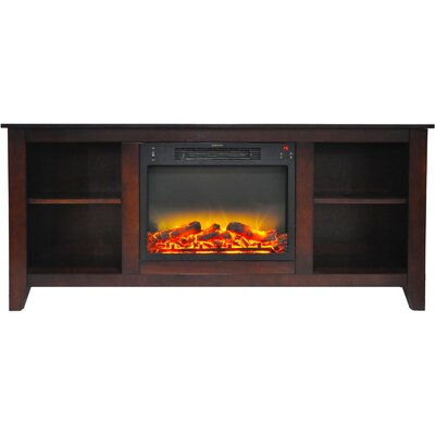 Brook Hollow 62.8 Electric Fireplace
