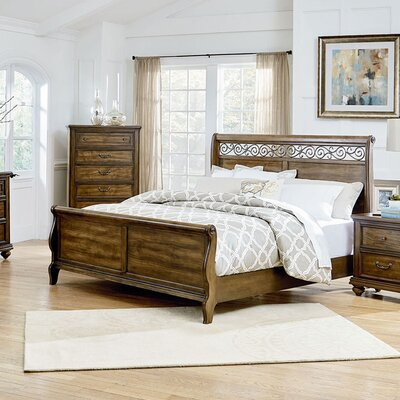 Troian Sleigh Bed Size: King