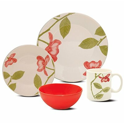 Biona 16 Piece Dinnerware Set, Service for 4 7891361949328