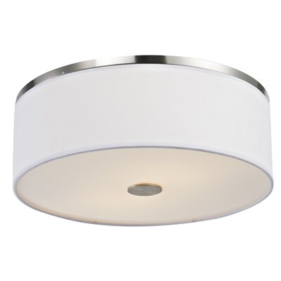 2-Light LED Flush Mount