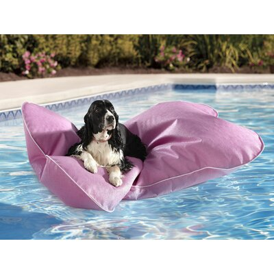 Aqua Pup Pool Mat Size: Large, Color: Violet