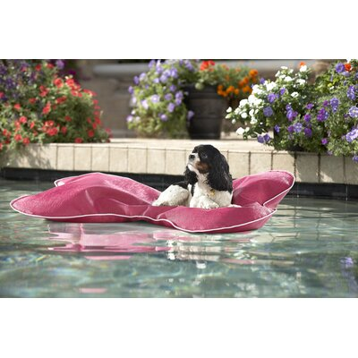 Christine Pup Pool Mat Size: Small, Color: Raspberry