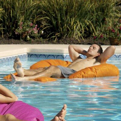 GoodLife Designs Sea Biscuit Pool Mat - Color: Tangerine