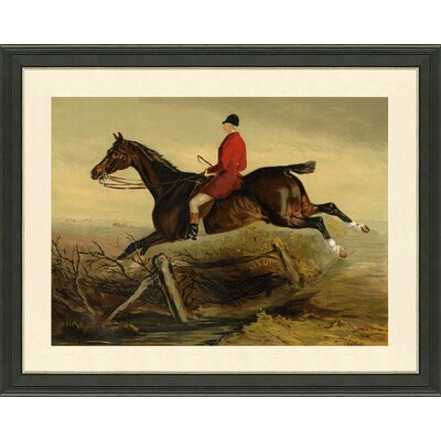 'Horse and Rider' Framed Print