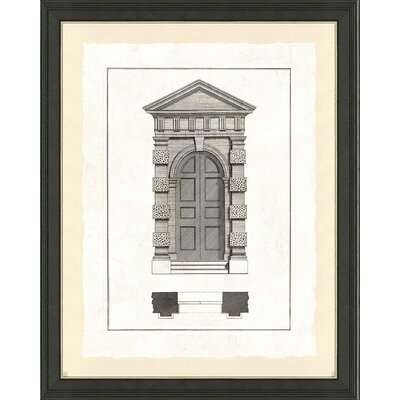 'Door Architecture I' Framed Graphic Art Print
