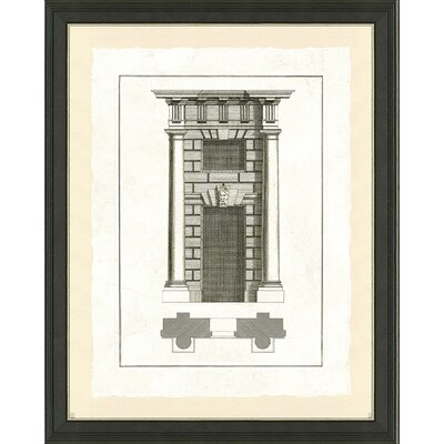 'Door Architecture II' Framed Graphic Art Print