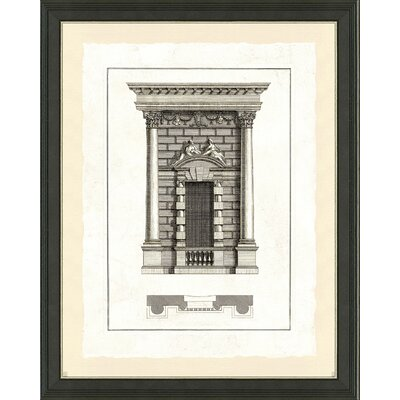 'Door Architecture III' Framed Graphic Art Print
