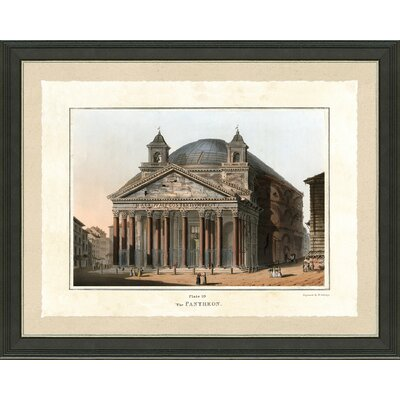 'Pantheon' Framed Graphic Art Print