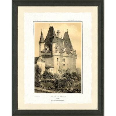 'Castle I' Framed Graphic Art Print