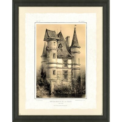 'Castle II' Framed Graphic Art Print