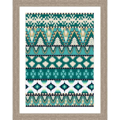 'Tapestry Pattern II' Framed Graphic Art Print