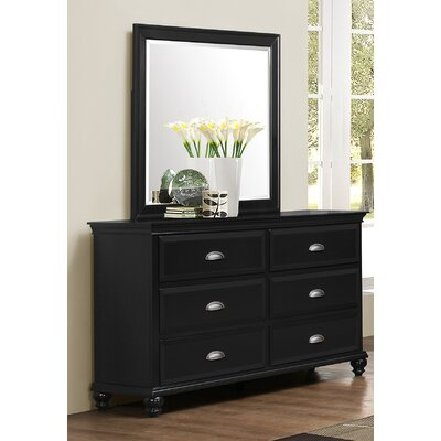 Centerville Simmons Casegoods 6 Drawer Dresser with Mirror