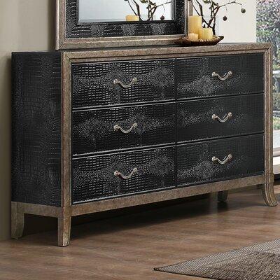 Simmons Casegoods Landis 6 Drawer Standard Dresser