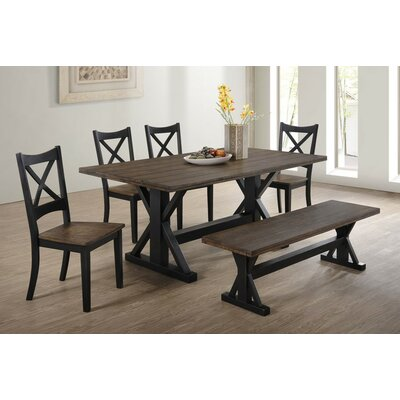Landrum 6 Piece Dining Set