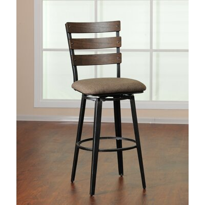 Fossil Counter Height Swivel Bar Stool by Simmons Casegoods
