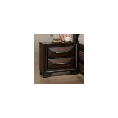 Pennington 2 Drawers Nightstand by Simmons Casegoods