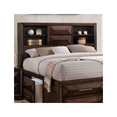Pennington Bookcase Headboard Size: King