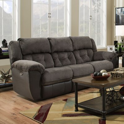 Simmons George Double Motion Reclining Sofa Type: Power